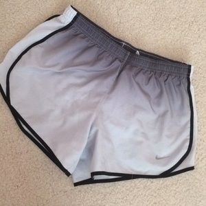 Nike Ombré running tempo shorts